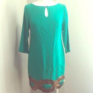Beautiful Trina Turk Silk Dress!!
